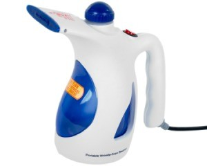 Handheld Steamer against a white background