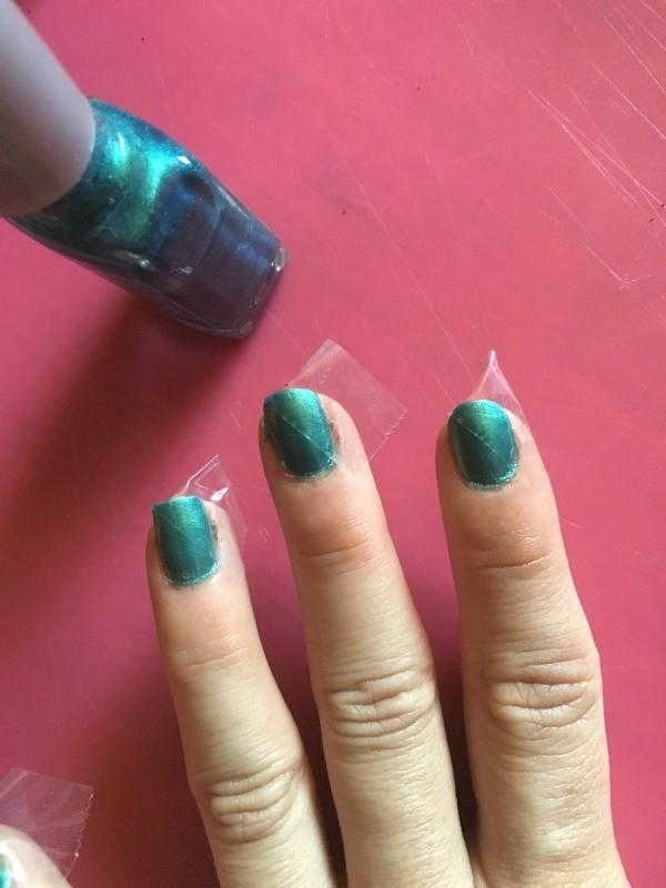 DIY Matte/Shiny Nail Art | ThriftyFun