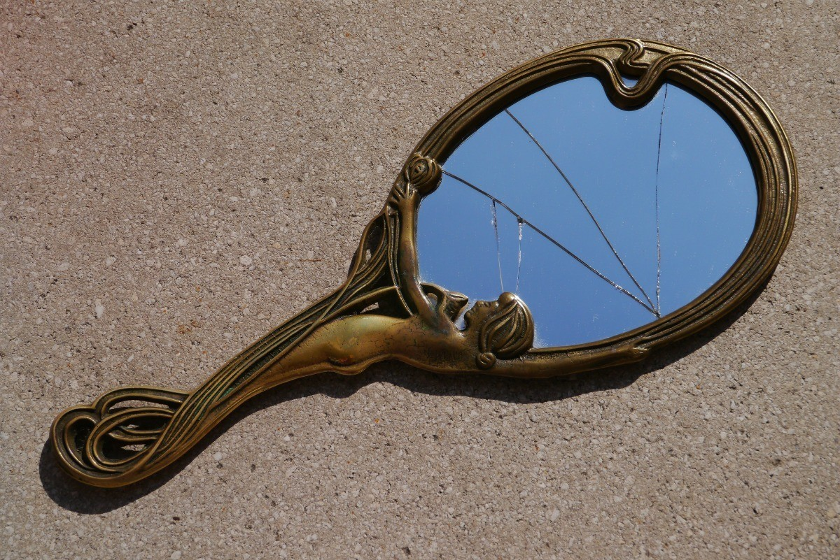 Repairing A Cracked Mirror Thriftyfun