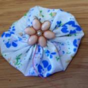 Pretty Fabric Brooch