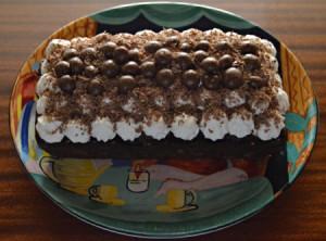 Double Delight Chocolate Cake