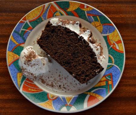 Double Delight Chocolate Cake