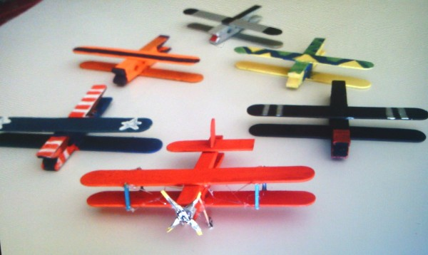 Clothes Pin And Popsicle Stick Airplane Thriftyfun