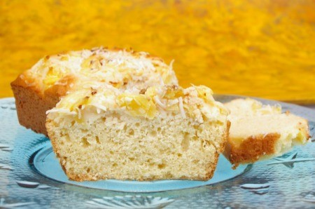 Pineapple Coconut Tea Cake