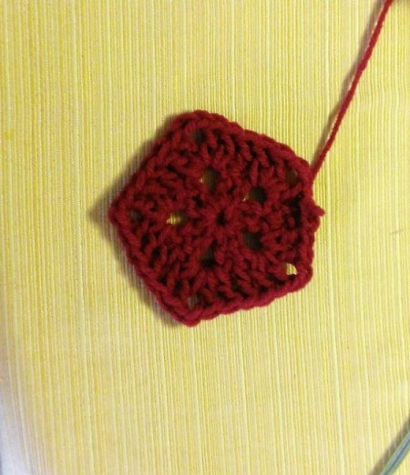 Crochet Americana Star Wall Hanging