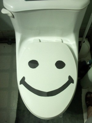 Happy Toilets Won't Overflow