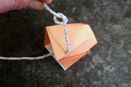 Origami Cup and Ball Game