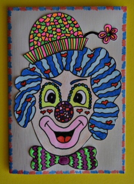 Clown Party Invitation
