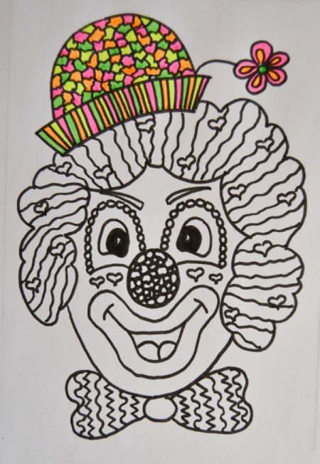 Clown Party Invitation