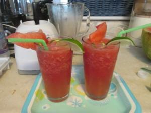 Cooling Refreshing Summertime Drink