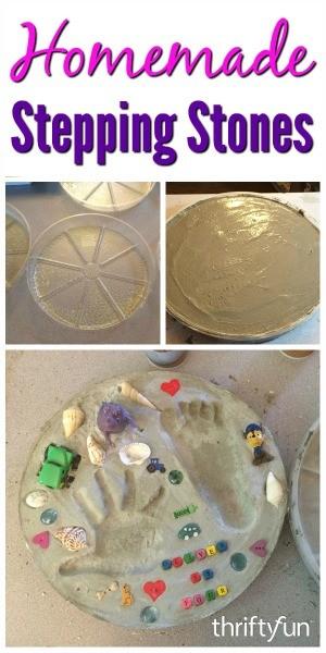 Homemade stepping stones thriftyfun workwithnaturefo