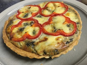 Savoury Cheese and Vegetable Tart