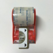 Credit Card for Loose Tape End
