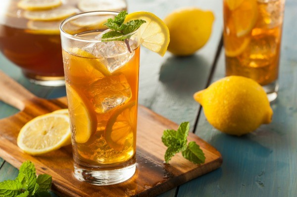 Image result for homemade iced tea