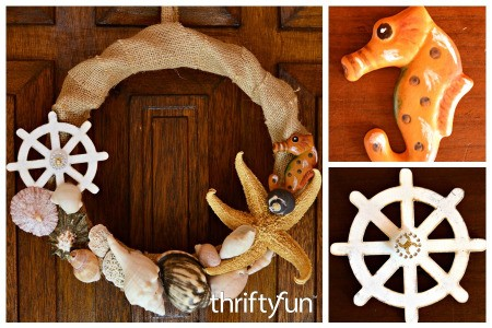 Making a Nautical Themed Wreath