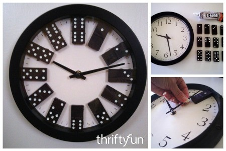 Making a Domino Clock