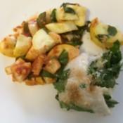 Vegetable Stuffed Fish
