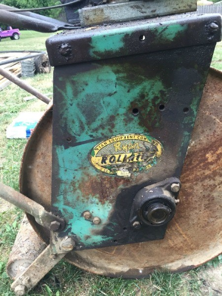 Value of an Antique Yard Roller