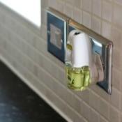 Plugged in air freshener