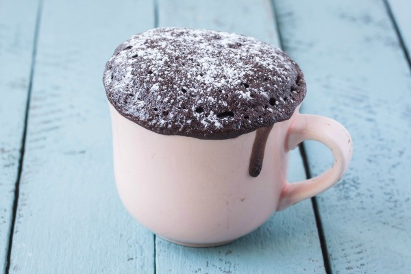 Converting an oven cake recipe to a microwave recipe thriftyfun chocolate cake cooked in a mug forumfinder Images