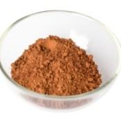 Cocoa Powder in a glass bowl