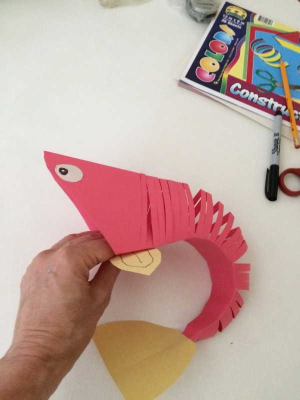 Making A Paper Fish