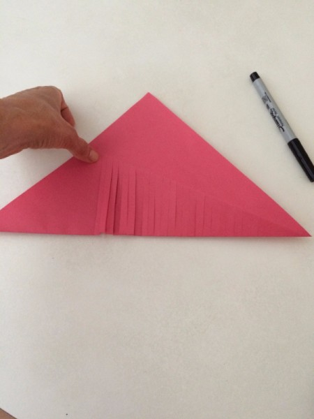 Moving Paper Fish Craft