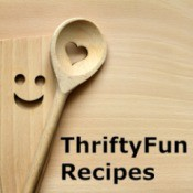 Logo for ThriftyFun Recipes