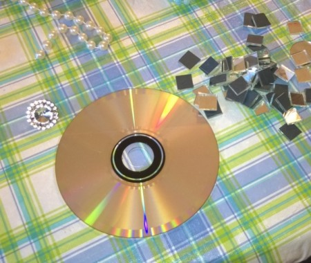 Glitzy CD Sun Catcher