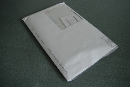 paper stuffed envelope