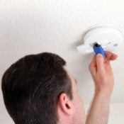 Replacing Battery in Smoke Alarm