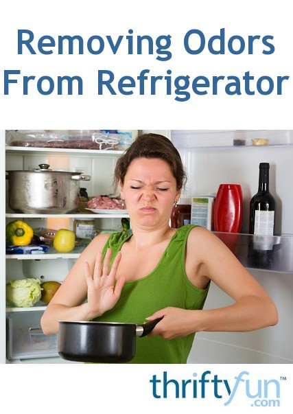 Removing odors from a refrigerator thriftyfun for How to remove fish odor from house