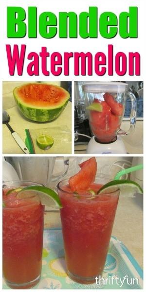 watermelon blended