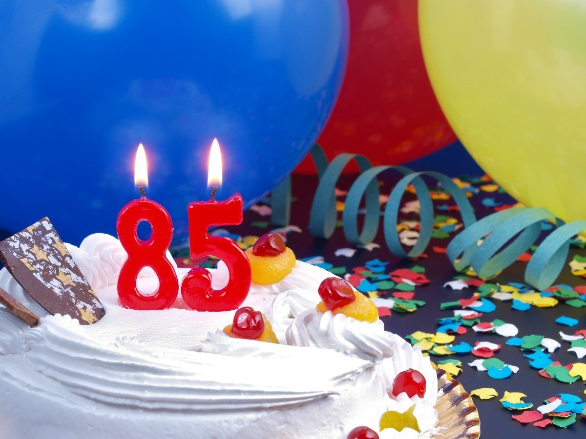 85th Birthday Party Centerpiece Ideas
