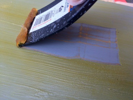 Removing Excess Wood Stain