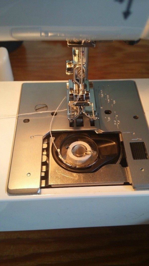 Janome Machine Not Picking Up Bobbin Thread ThriftyFun New Sewing Machine Not Picking Up Bobbin Thread