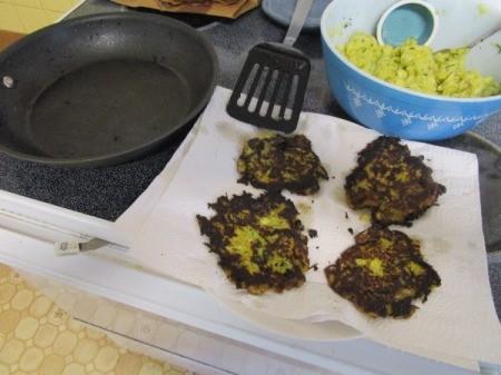 Zucchini/Squash Pancakes