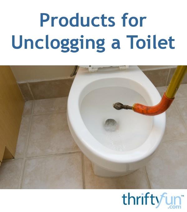 toilet unclogging