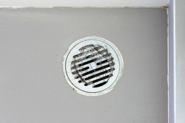 Shower Drain With Hair