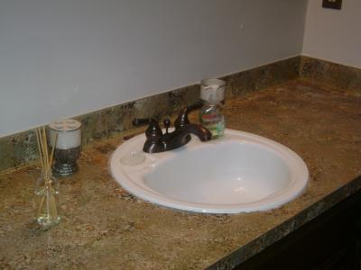 RE: Painting Counter Tops To Look Like Granite