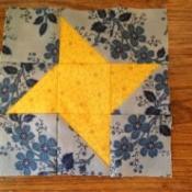 6 Inch Friendship Star Quilt Block