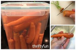 Storing Fresh Carrots