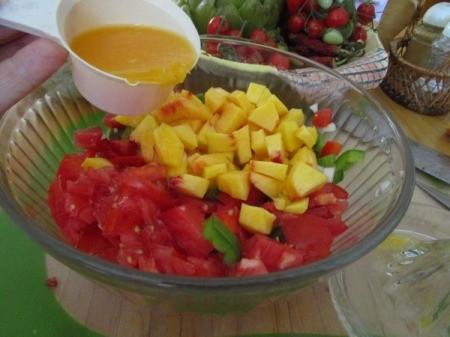 Peachy Salsa