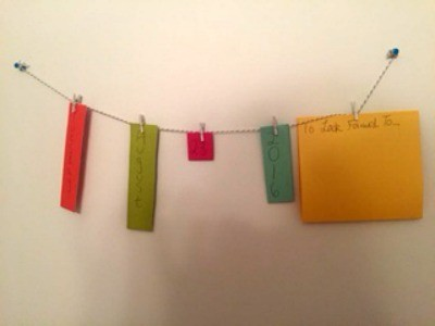 Photo or Date String for Your Wall