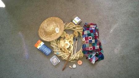 Farmer's Country Hat Wreath