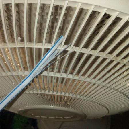 brushing fan