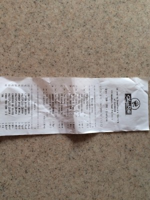 Check Your Receipt for Incorrect Prices