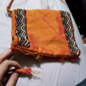 purse with broken strap