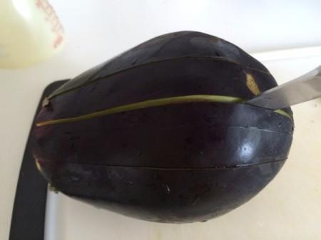 Pull-Apart Garlic Eggplant