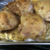 Garlic Dijon Dump Chicken